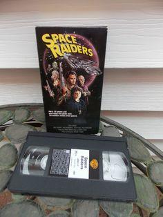 Space Raiders Rare Sci Fi VHS OOP Vince by PfantasticPfindsToo, $9.99