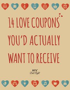 Ideas For Love Coupons DonT Hand Them Out All At Once Hide One