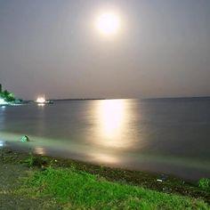El Estor, Izabal luna llena