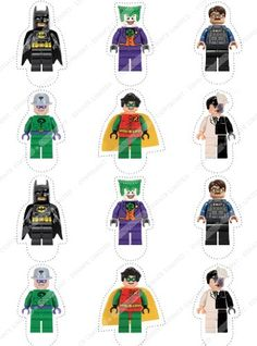 Cakeshop 12 x PRECUT Lego Batman Stand Up Edible Cake Toppers *** Continue to the product at the image link.