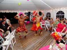 male hano dancers for our luau show