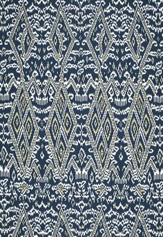 Maya Ikat Print in Indigo (174752) http://www.fschumacher.com/search/ProductDetail.aspx?sku=174752