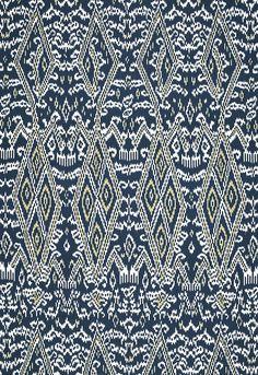 Maya Ikat Print  Indigo