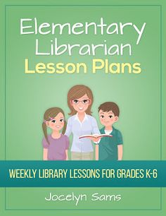 The 2014-2015 library lesson plans are now available! Hundreds of hours were spent creating these lesson plans and resources for you. Here's what's included: 280 lessons for grades K-6 - All resources