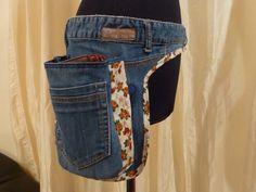 Great No Cost sewing pants boho Style Hüfttasche Jeans recycelt Diy Jeans, Sewing Jeans, Hip Purse, Hip Bag, Jean Apron, Jean Purses, Denim Tote Bags, Denim Ideas, Denim Crafts