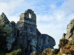 A Fresh Visit and Photos of the Mysterious Roche Rock and Hermitage, Cornwall Pleasant View, Main Attraction, Tower Bridge, The Rock, Cornwall, Shades Of Blue, Mysterious, Countryside, Mystery