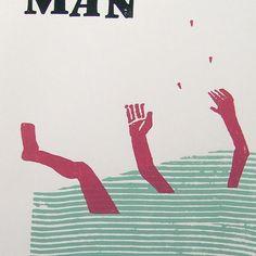 Man Man - Concert Poster Screenprint.