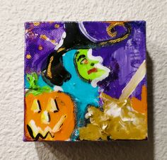 Original Halloween Witch Painting IMG_0574.JPG