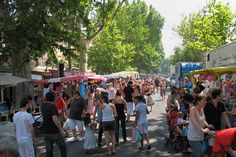 Market day in Arles
