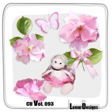 CU Vol. 093 Girls Stuff Flowers by Lemur Designs #CUdigitals cudigitals.comcu commercialdigitalscrapscrapbookgraphics
