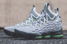 ad892231748 Look Out For The Nike LeBron 15 Neon Next up for the LeBron Watch will be