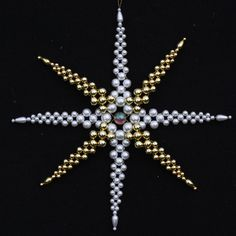 Beaded Stars : Star of Bethlehem - Large