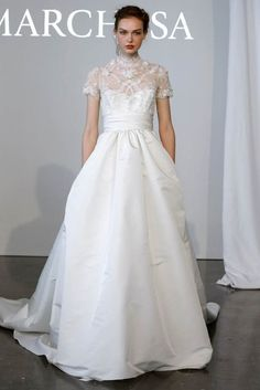 Marchesa Spring 2015 Bridal Collection. B11818. 212 872 8957