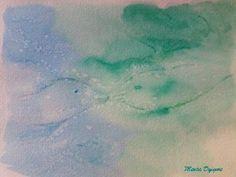 Delfines. Acuarela