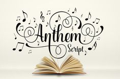 Anthem Script by Graptail on Creative Market