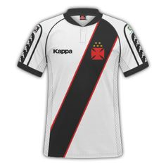 GT Camisas: Camisas Vasco da Gama 1998 / 1999 - Home e Away