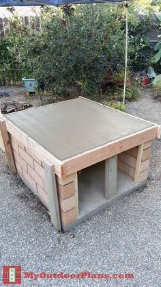 DIY Brick Pizza Oven | MyOutdoorPlans | Free Woodworking Plans and Projects, DIY Shed, Wooden Playhouse, Pergola, Bbq