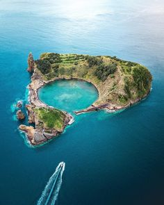 Vila Franca Do Campo Islet Portugal. The place Ive dreamed about taking a photo of for 3 years. || Click on the photo to discover the most incredible destinations with us :)