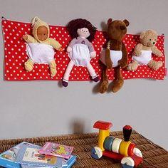 Range doudous – décoration chambre bébé et chambre enfant – Les Griottes