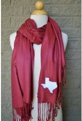 State Pride Scarf {Texas}