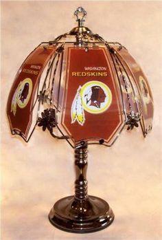 Redskin lamp