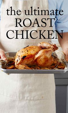 Ultimate Roast Chicken   Martha Stewart Living - After you master our definitive roast chicken recipe, check out our step-by-step guide to carving your bird.