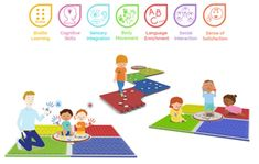 Picture of Braille Learning and Sensory Play Mat Reach & Match®