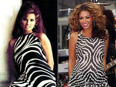 Raquel (1965) ~ Beyonce (2011)