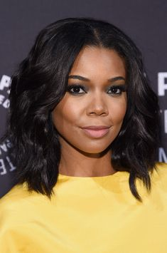 Celebrities appear on 'Live with Kelly & Michael' in New York City on October 13, 2015.<br /> Pictured: Gabrielle Union