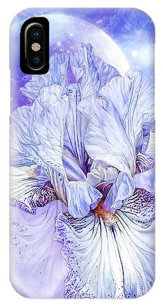 Iris - Goddess Of Dreams phone case featuring the art of Carol Cavalaris. Art Phone Cases, Iphone Cases, Iris Goddess, Iphone 11, Dreams, Prints, Image, I Phone Cases, Printmaking