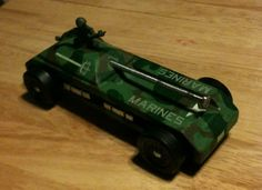 pinewood derby car ideas | Modified Power Wheels - Pinewood Derby
