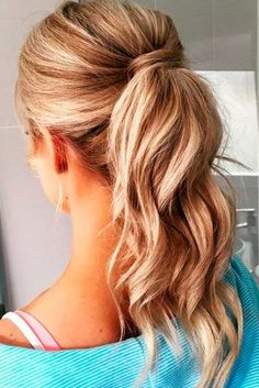 Ponytail Hairstyles For Long Hair Awesome 10 Easy Ponytail Hairstyles Long Hair Style Ideas 2018  Pinterest