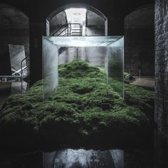 Building with Sun, Water and Air: Hiroshi Sambuichi's Subterranean Installation at The Cisterns in Frederiksberg   Yellowtrace