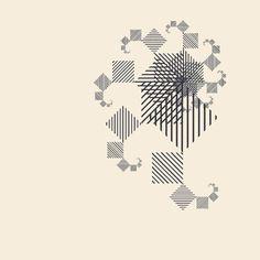 Fractal Experience by Erik Söderberg, via Behance