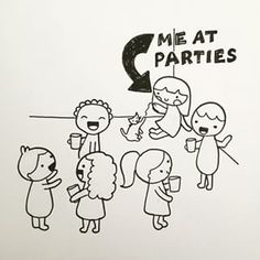 When it comes to parties, have a system. | 25 Introverts Share Their Most Helpful Piece Of Dating Advice