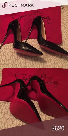 59fc402392ab9c Louboutins Only worn once - barely scuffed bottoms. Christian Louboutin  Shoes Heels Shoe Game