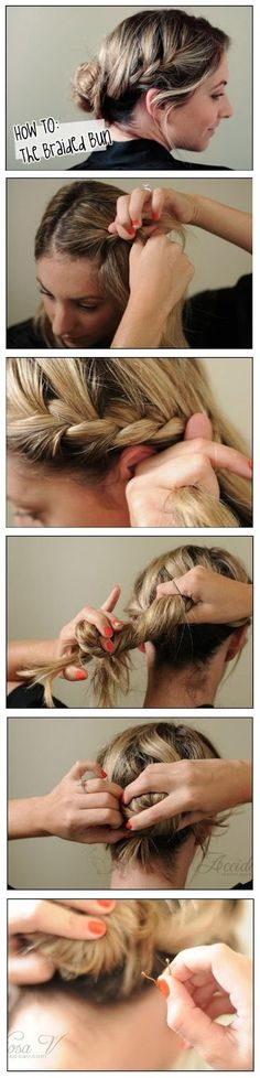 Make A Braided Bun | DIY & Crafts Tutorials