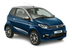 e-Aixam City Premium in blau. Cannes, Small Cars, Location, Transportation, City, Vehicles, Golf Carts, Passion, Autos