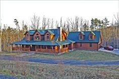 Log Home Hewett