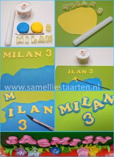How to make Double letters on your cake - CakesDecor