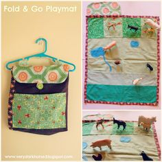 60-Minute Gift: Fold and Go Play MatTutorial on the Moda Bake Shop. http://www.modabakeshop.com