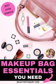 Beauty Products You Need, Makeup Products, Avon Products, Best Selling Makeup, Makeup Bag Essentials, Avon Skin So Soft, Makeup Must Haves, Avon Representative, Makeup Geek