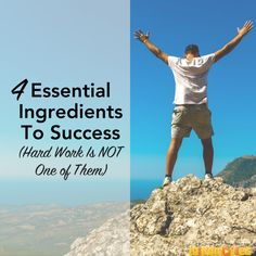 Discover the 4 essential ingredients to success that are as important or even…