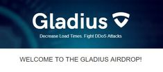 "📢 Gladius Network #Airdrop    gladiusIO free $GLA tokens  1. Click on the image or click Visit site to start.     2. Join Telegram group   3. Click on ""Get my secret code""   4. Send this code to the Gladius Telegram bot   5. Verify your email   6. Follow tasks earn points   #Airdrops #freecrypto  #GLADIATUS #gladius"