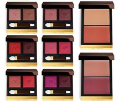 Tom Ford Makeup Collection for Spring 2017 lip and cheek products