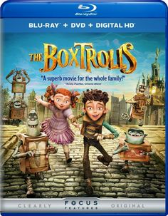 All Movie Posters and Prints for The Boxtrolls JoBlo Posters