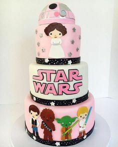 un joli gâteau artisanal pour des princesses, choisir un gateau star wars original