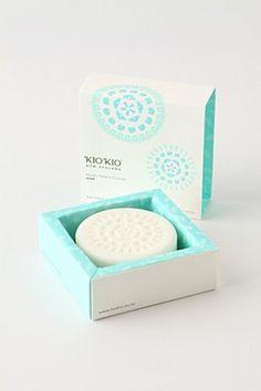 Kiokio soap #soap #soappackaging