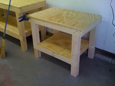 Wedging table.  Plaster, plywood, or canvas...