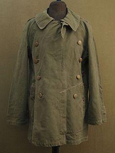 Vintage Coat, Vintage Jacket, Vintage Denim, Mens Leather Coats, Vintage Outfits, Vintage Fashion, Work Jackets, Military Fashion, Fashion Wear